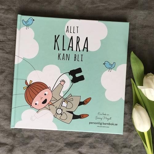 Personlig barnbok med barnets namn