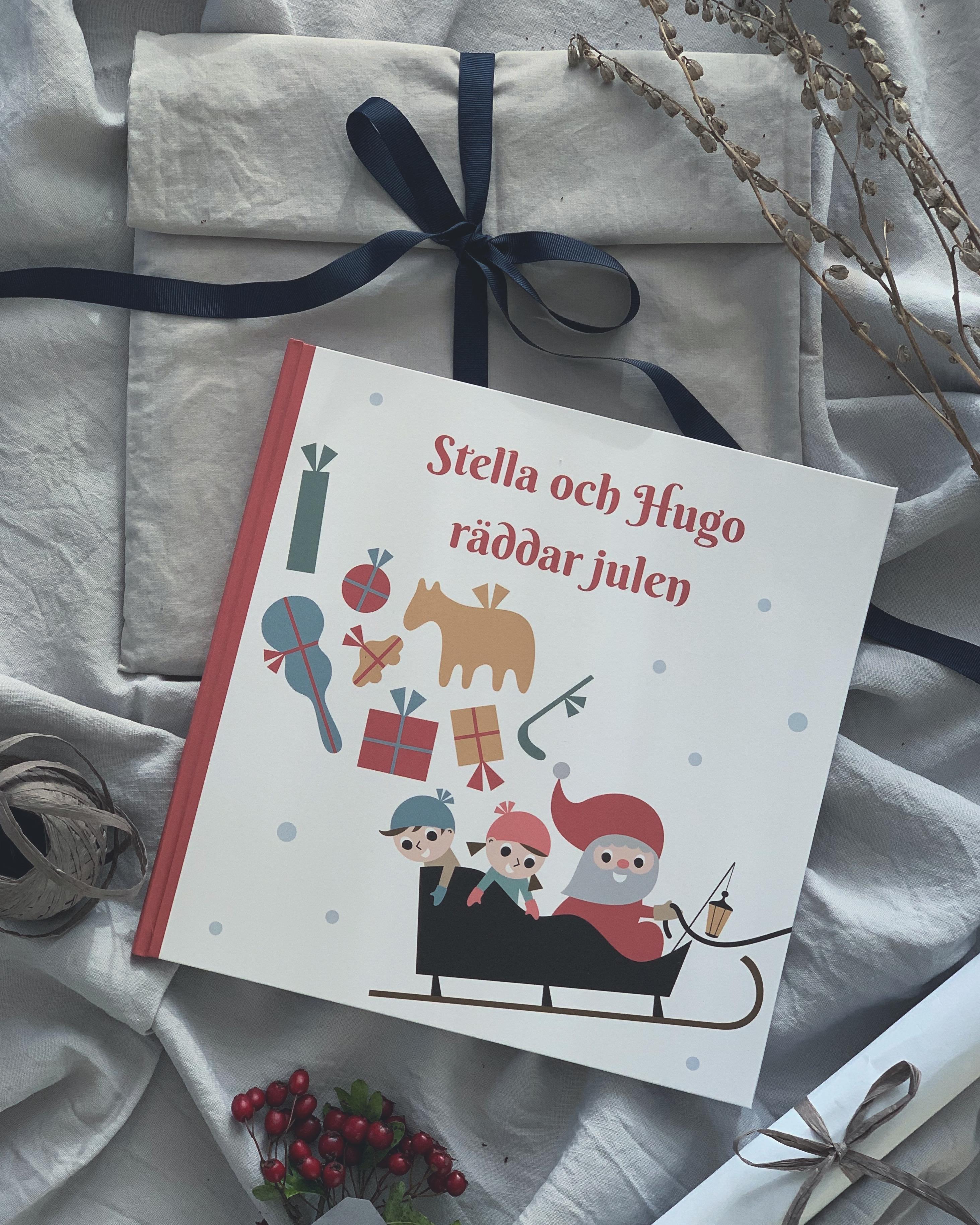 Personlig barnbok Julbok Julklapp Personlig julklapp