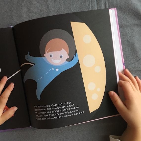 Personlig hjälte barnbok